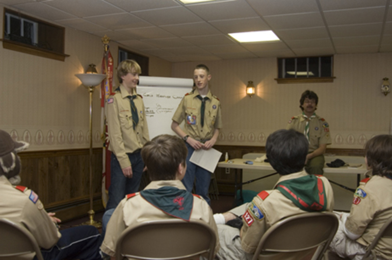 Troop Meetings image